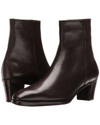 Gravati - Leather Ankle Boot (black) Women's Dress Zip Boots - Lyst