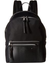 Calvin Klein - Lisa Nylon Backpack (black/silver) Backpack Bags - Lyst
