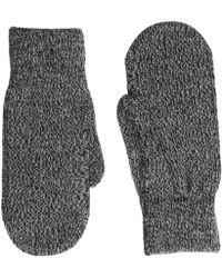 Smartwool - Cozy Mitten (black) Over-mits Gloves - Lyst