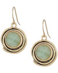 The Sak - Color Orbit Drop Earrings (amazonite) Earring - Lyst