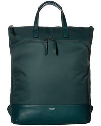Knomo - Mayfair Harewood Totepack (deep Pine) Tote Handbags - Lyst