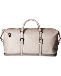 282f09b5b Lyst - Ted Baker Ragmar Palmelato Leather Holdall Duffel Bag in ...