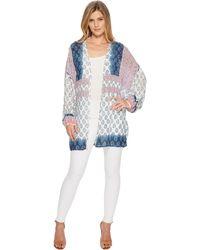 Tolani - Brea Kimono (indigo) Women's Clothing - Lyst