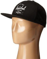 Herschel Supply Co. - Whaler (heathered Grey) Caps - Lyst