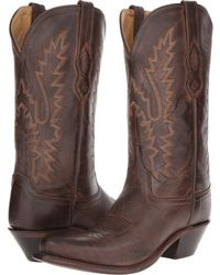 Old West Boots - Lf1534 (brown Canyon) Cowboy Boots - Lyst