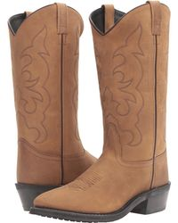 Old West Boots - Tbm3011 (light Apache) Cowboy Boots - Lyst