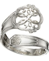 ALEX AND ANI - Spoon Ring (silver Hand Of Fatima) Ring - Lyst