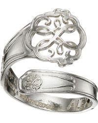ALEX AND ANI - Spoon Ring (silver Path Of Life) Ring - Lyst