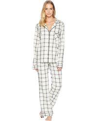 UGG - Raven Plaid Pj Set (cream/black) Women's Pajama Sets - Lyst