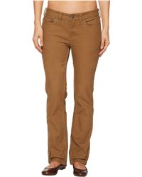 Mountain Khakis - Camber 106 Pants Classic Fit (tobacco) Women's Casual Pants - Lyst