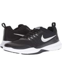 34c654ccfffe Nike - Legend Trainer (black metallic Silver white) Men s Cross Training  Shoes