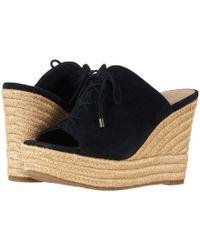 UGG - Giorgia (black) Women's Wedge Shoes - Lyst