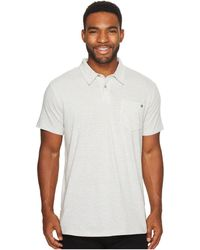 Billabong - Standard Issue Polo (black Heather) Men's Clothing - Lyst
