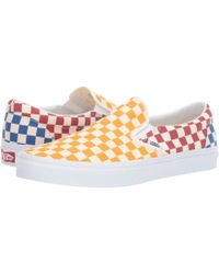 ae75f88ad4 Lyst - Vans Classic Slip-ontm ((muted Metallic) Red gold) Skate ...
