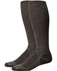 Ariat - Over The Calf Hiker Wool Sock (grey) Men's Crew Cut Socks Shoes - Lyst
