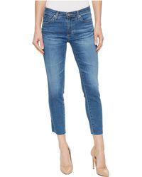 AG Jeans - Prima Crop In Indigo Viking - Lyst