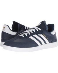 99876ba4366 adidas Originals - Samba Adv (collegiate Navy white white) Men s Skate Shoes