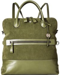 Lodis - Wiltern Rfid Nia Convertible Tote Backpack (army Green) Backpack Bags - Lyst