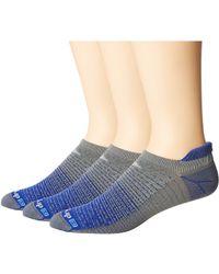 Drymax Sport - Thin Running No Show Tab 3-pack (sunburst/orange/gray) No Show Socks Shoes - Lyst