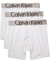CALVIN KLEIN 205W39NYC - Steel Micro 3-pack Boxer Brief - Lyst