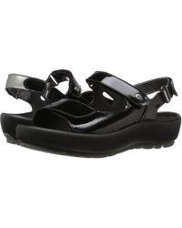 Wolky - Rio (multi Black Crash) Women's Sandals - Lyst