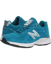 New Balance - W990v4 (lake Blue/lake Blue) Women's Running Shoes - Lyst