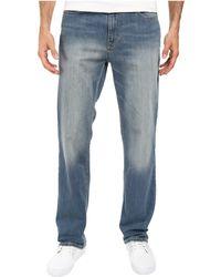 Calvin Klein Jeans - Straight Denim In Silver Bullet - Lyst