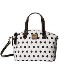 Dooney & Bourke - Carolina Ruby Bag (white/black Trim) Bags - Lyst