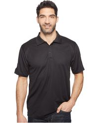 Ariat - Ac Polo (black) Men's Clothing - Lyst