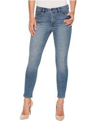 Lauren by Ralph Lauren - Premier Skinny Crop (perry Wash) Women's Jeans - Lyst