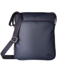 Lacoste - Small Classic Crossover Bag (peacoat) Cross Body Handbags - Lyst c062c70d5c7e9