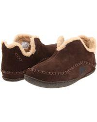 Sorel - Manawantm (black Wool) Men's Slippers - Lyst