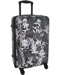 Vera Bradley - Small Hardside Spinner (butterfly Flutter Black) Luggage - Lyst