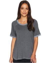 Felina - Jamie Marl Terry Scoop Neck Raglan Sleeve Top (trade Winds) Women's Pajama - Lyst