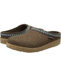 Haflinger - Gz Classic Grizzly (black) Clog Shoes - Lyst
