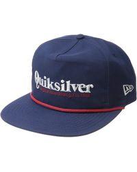 Quiksilver - Pine Dropper Hat (black) Caps - Lyst