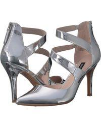 Nine West - Florent9x9 (silver Synthetic) Women's Shoes - Lyst