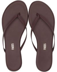 43345661bce70 TKEES - Foundation Matte (cocobutter) Women s Sandals - Lyst
