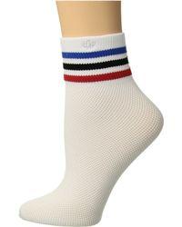 Adidas Originals | Originals Mesh Striped Ankle Single Quarter Sock | Lyst