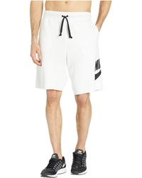 2ae4b09e14de Nike - Nsw Ft Alumni Shorts (black black white white) Men s