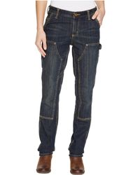 Carhartt - Slim Fit Double-front Denim Dungaree Jeans - Lyst