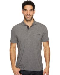 Prana - Pacer Short Sleeve Polo (charcoal) Men's Short Sleeve Pullover - Lyst