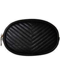 Steve Madden - Chevron Quilted Belt Bag (black) Women's Belts - Lyst