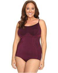 Hue - Plus Size Seamless Shaping Bodysuit - Lyst