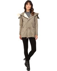 Dylan By True Grit - Stonewashed Cotton And Canvas Surplus Coat - Lyst