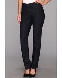 NYDJ - Sheri Skinny In Dark Enzyme Wash (dark Enzyme Wash) Women's Jeans - Lyst