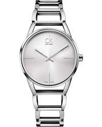 Calvin Klein - Stately Watch - K3g23126 (silver) Watches - Lyst