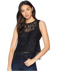 Nanette Lepore - Rennie Top (black) Women's Clothing - Lyst