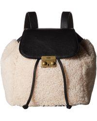 UGG - Vivenne Sheepskin Backpack - Lyst