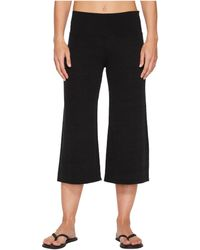 Hard Tail - Flare Crop Pants (black) Women's Casual Pants - Lyst
